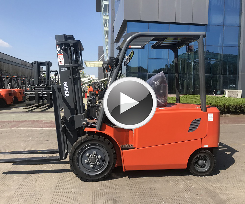 3.5Ton Electric Forklift Truck with Standard Specification